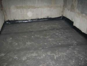 Ванная комната  из монолитного бетона