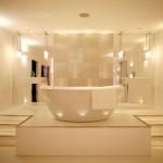 Общие правила освещения в ванной комнате