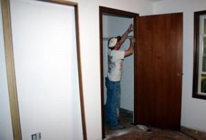как измерить дверной проем