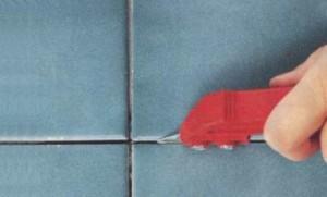 Как поменять затирку в ванной